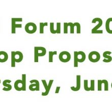 Fall Forum Workshop Proposal Deadline